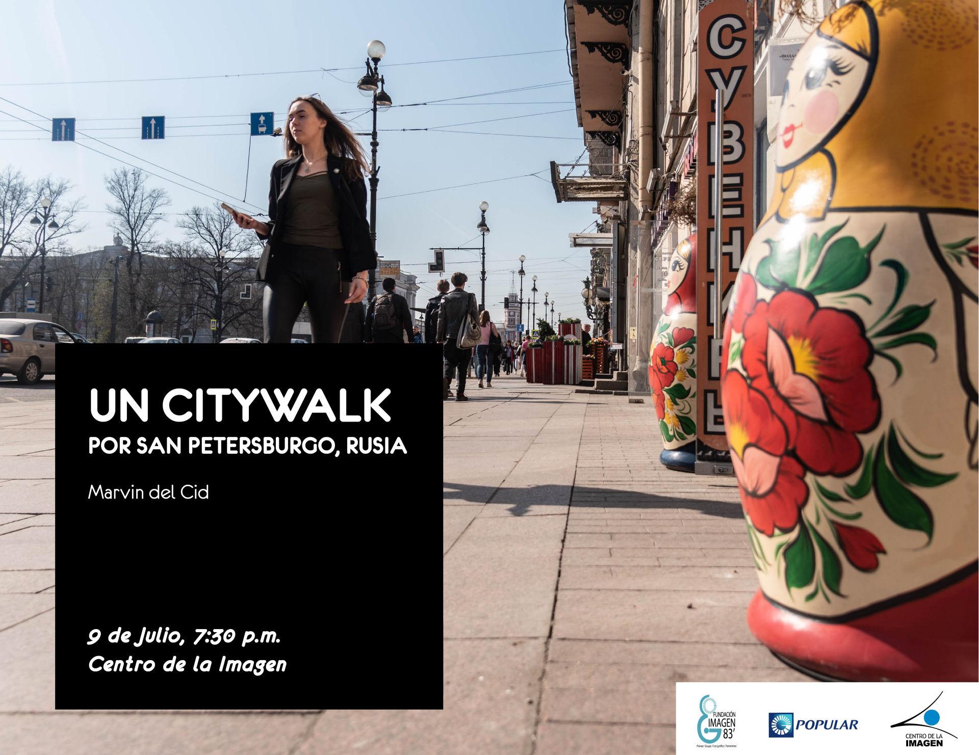 Un Citywalk por Sanpetersburgo, Rusia