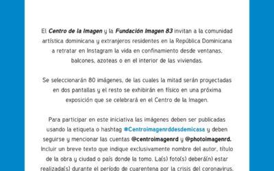 Convocatoria: CentroImagenRDDesdeMiCasa