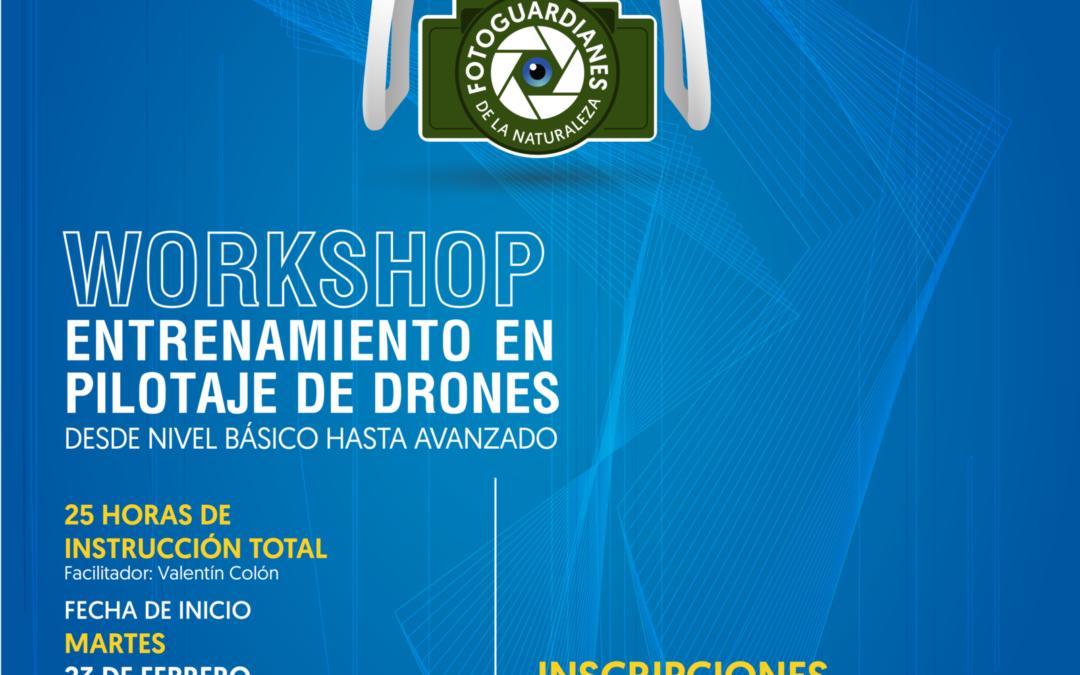 Workshop: Entrenamiento en Pilotaje de Drones