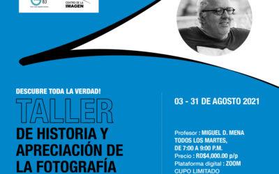 Taller – Historia y Apreciación de la Fotografía